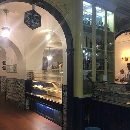 Pasteis de nata at Pasteis de Belem - amazing!