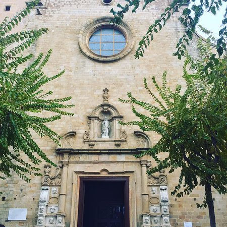 Calella church - only 5 minutes away