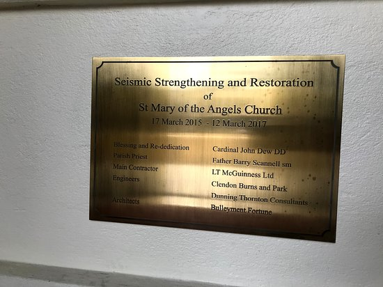 Saint Mary of the Angels: The Church that lived to tell the tale