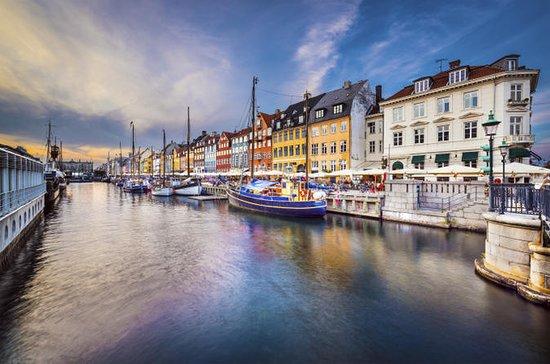 Båttur på kanalen i København med...