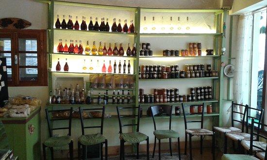 Το cafe Ίρις στο Τσεπέλοβο .