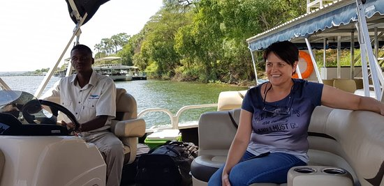 boat transfer to  Old Drift Lodge