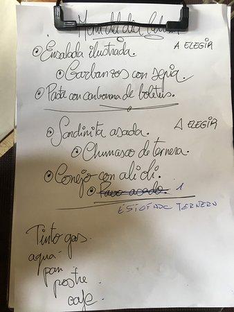 menu 12€