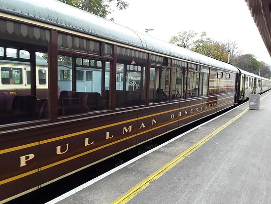 Dartmouth Steam Railway and River Boat: Observation Carriage