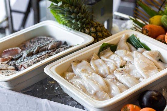 Thai seafood night