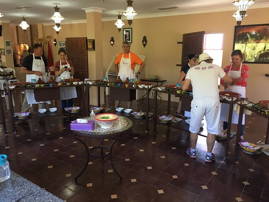 One of the best things to do in Marrakech - really fun interesting cooking class which is professionally set up and hosted.