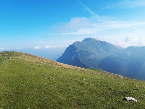 На вершине Монте Бальдо во второй половине сентября