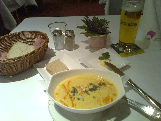 Schoenau im Schwarzwald, Tyskland: Soupe coco curry