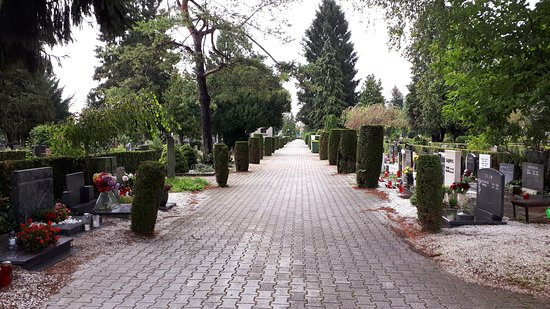 Cimetière de Žale : Very peaceful cemetery with many trees