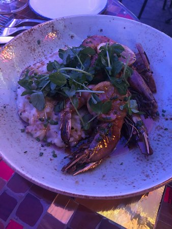 Trevi Italian Restaurant : Special of the day, Risotto with seafood