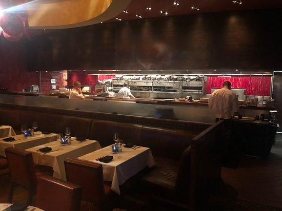 Trevi Italian Restaurant : Open kitchen