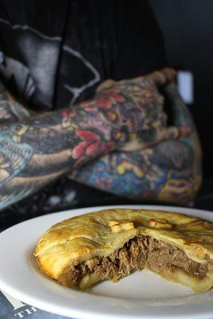 Inside the pie...