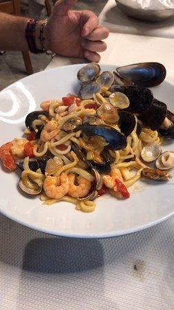 Ristorante Pizzeria Capri: Scialatielli Capri