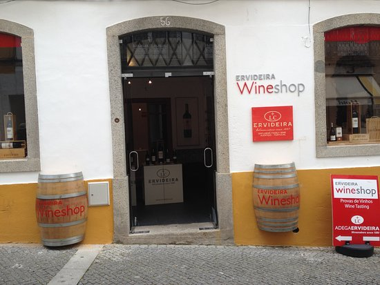 Ervideira Wine Shop Evora