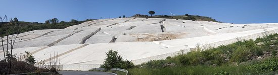 Vista panoramica del cretto