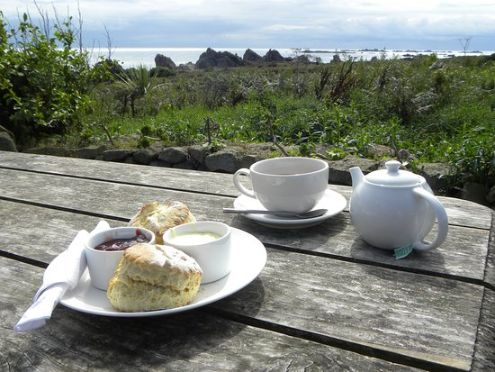 St Agnes, UK: Great spot and a great cream tea!