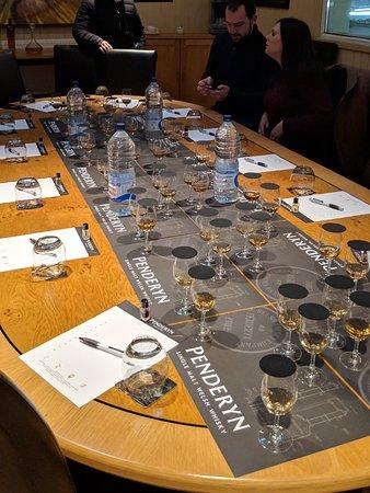 Penderyn Distillery: The masterclass.