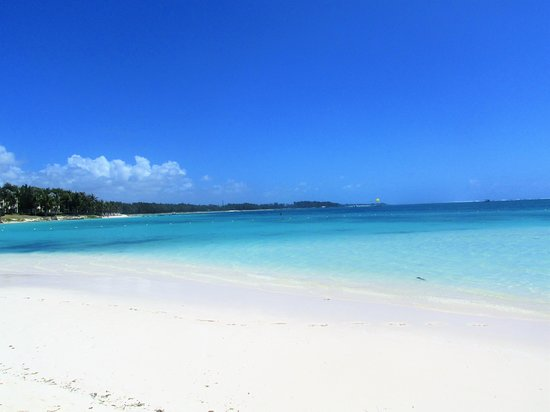 Belle Mare beach Mauritius. One of the prettiest beaches.