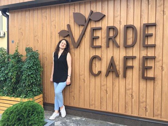 Verde cafe Foto