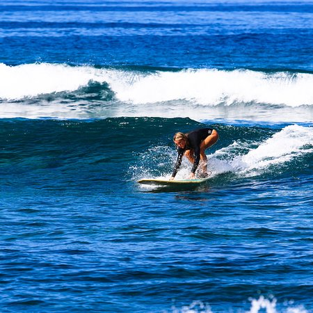 Great private lesson, great surf and time