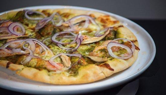 Fattoria E Mare: Pesto Pizza