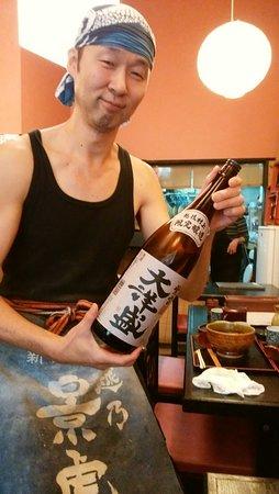 美味しいお蕎麦と種類豊富な日本酒