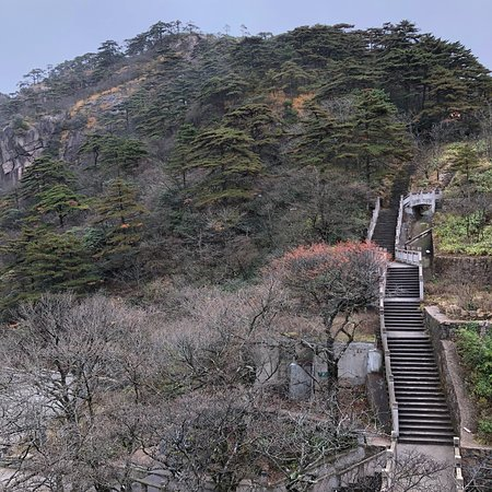 Luxury on top of Huangshan