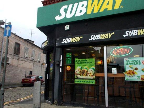 Great Halal Food Subway Manchester Traveller Reviews Tripadvisor