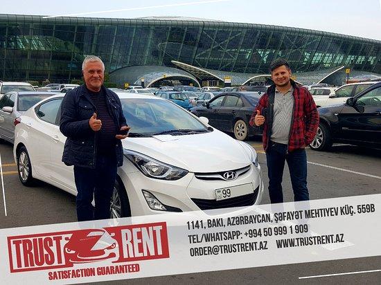 Trust Rent a Car Baku Services