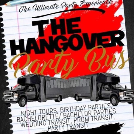The Hangover Party Bus
