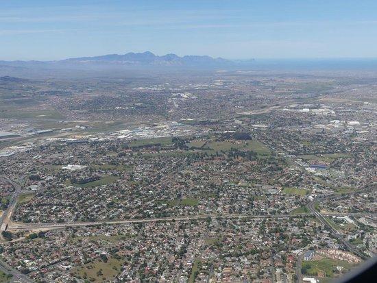 South African Airways: große Ausdehnung von Kapstadt