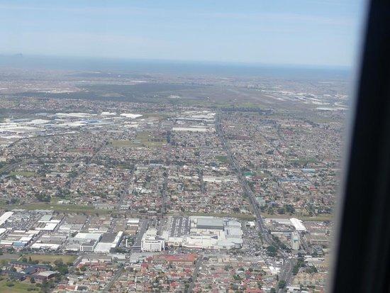 South African Airways: gleich unten