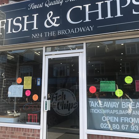 No4 The Broadway Traditional Fish & Chips Portswood Road