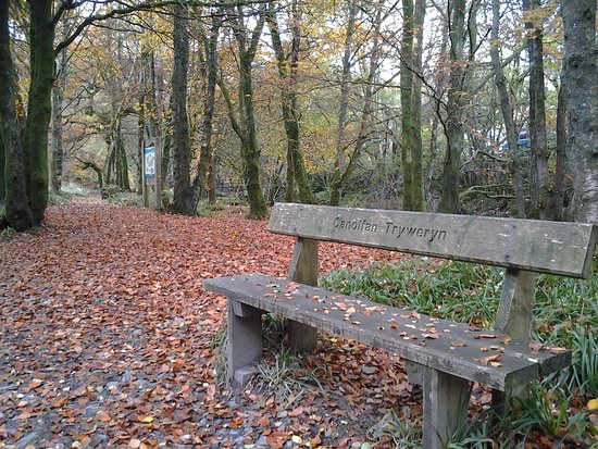 Manons Riverside Cafe: Take a stroll along the Tryweryn Trail, the National White Water Centre's riverside walk
