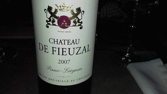 Auberge de Duillier : Très bon Bordeaux.
