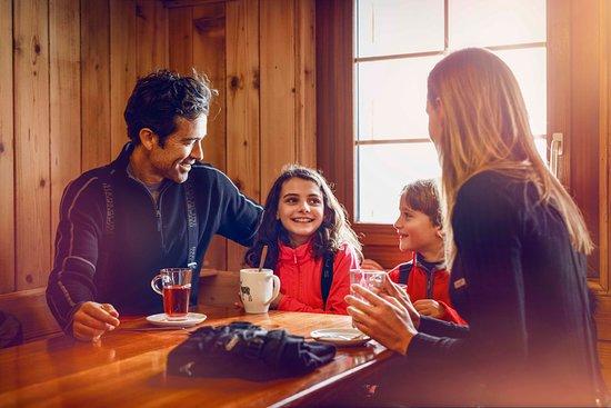 Valais, Suisse : Après-ski en famille