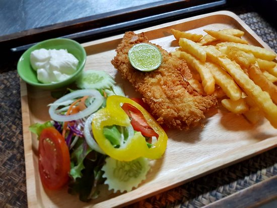 Thai Spice Cuisine: Fish and Chips