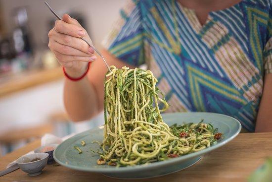 Zucchini Noodles (vegan, gluten-free, paleo)
