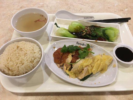Food Republic - Olympian City: Hainanese chicken rice