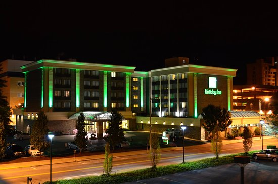 Exterior at Night - Picture of Holiday Inn Johnstown-Downtown, an IHG hotel - Tripadvisor