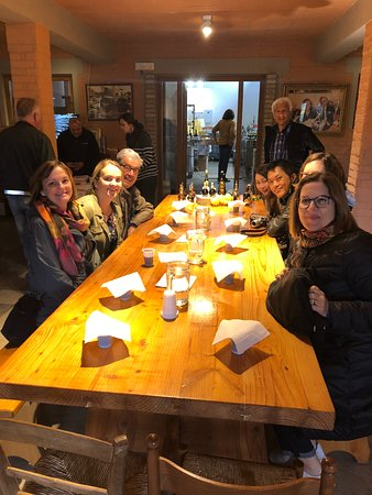 Bologna Food Experience: Factory Visits with Gourmet Lunch and Wine Tasting: our group