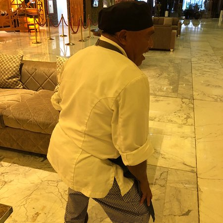 Ernesto the dancing chef.