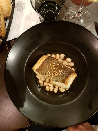Saint-Julien-de-Concelles, France : Filet de turbot sur lit de coco