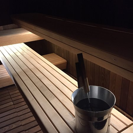 Sauna Facility in Okada's The Retreat spa