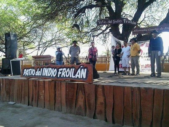 Patio del Indio Froilan