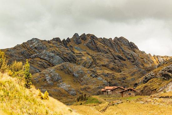 San Luis, Pérou: Don Bosco Chalets Huachucocha just west of Laguna Huachucocha