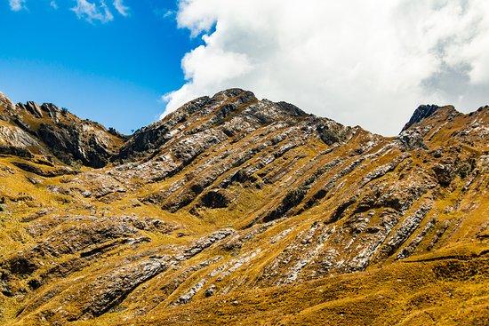 San Luis, Pérou: Hills just west of Laguna Huachucocha