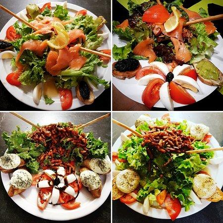 Les salades ..
