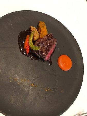 Michael Mina: beef steak cut