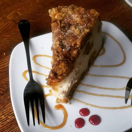 Delicious - Charley's Carrot Cheesecake